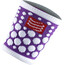 Compressport 3D Dots irtohihat/-lahkeet , violetti